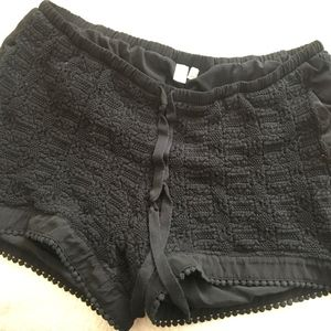 E by Eloise crochet shorts